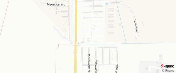 Улица Г.Коваленко на карте Майкопа с номерами домов