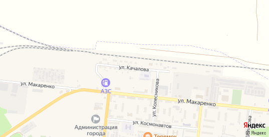 Улица Качалова в Зверево