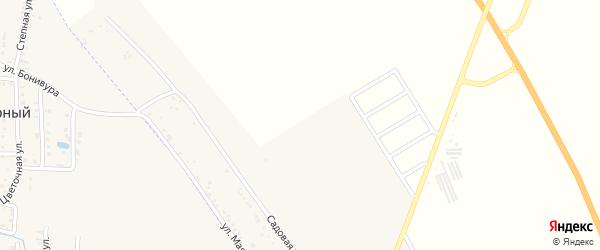 Мартовская улица на карте хутора Северо-Восточные Садов с номерами домов