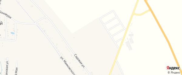 Майская улица на карте хутора Северо-Восточные Садов с номерами домов
