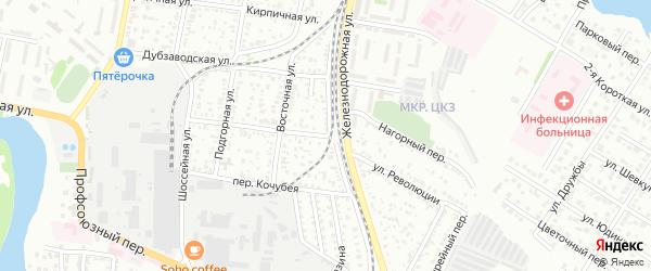 Улица Революции на карте Майкопа с номерами домов