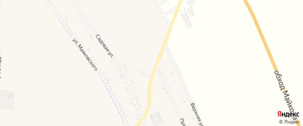 Декабрьская улица на карте хутора Северо-Восточные Садов с номерами домов