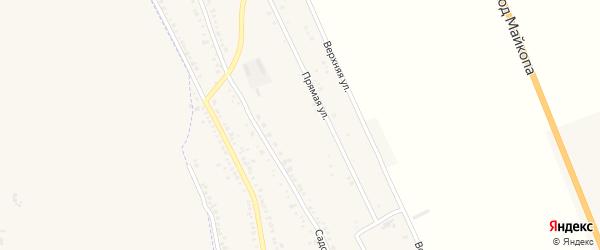 Советская улица на карте хутора Северо-Восточные Садов с номерами домов