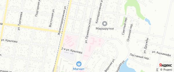 Пушкина 2-я улица на карте Майкопа с номерами домов
