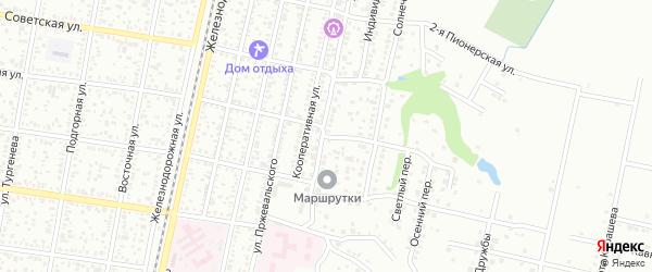 Первомайская 2-я улица на карте Майкопа с номерами домов