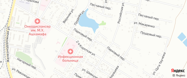 Улица Дружбы на карте садового некоммерческого товарищества Весны с номерами домов