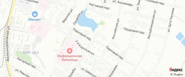 Улица Дружбы на карте садового некоммерческого товарищества Дружбы с номерами домов
