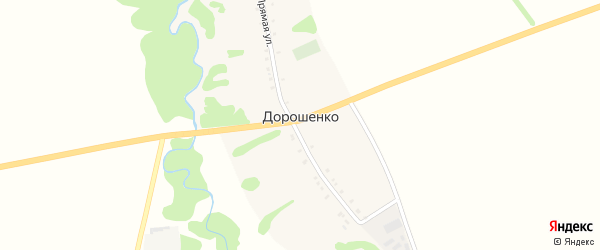 А/Д Подъезд к х. Дорошенко на карте хутора Дорошенко с номерами домов