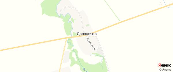 Карта хутора Дорошенко в Адыгее с улицами и номерами домов