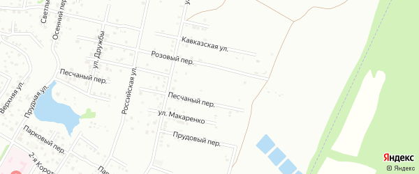 Республиканская улица на карте Майкопа с номерами домов
