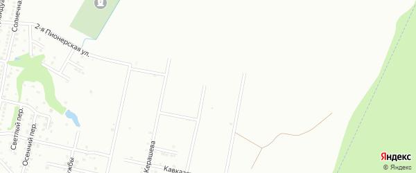 Даховский переулок на карте Майкопа с номерами домов