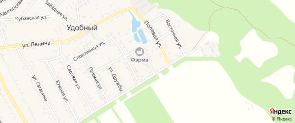 Родниковая улица на карте садового некоммерческого товарищества Авиатора с номерами домов