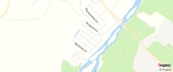 Карта садового некоммерческого товарищества СОТА Цементника в Архангельской области с улицами и номерами домов