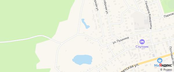 Карасовский переулок на карте Няндомы с номерами домов