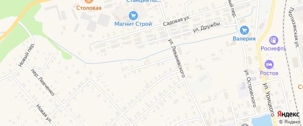 Переулок Леваневского на карте Няндомы с номерами домов
