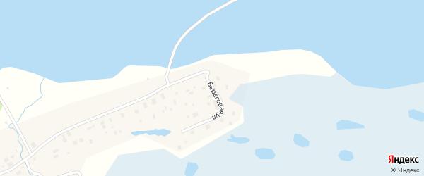 Береговая улица на карте деревни Рикасихи с номерами домов
