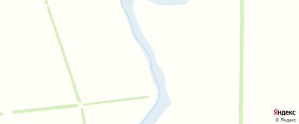 Васильковая улица на карте садового некоммерческого товарищества Калинки с номерами домов