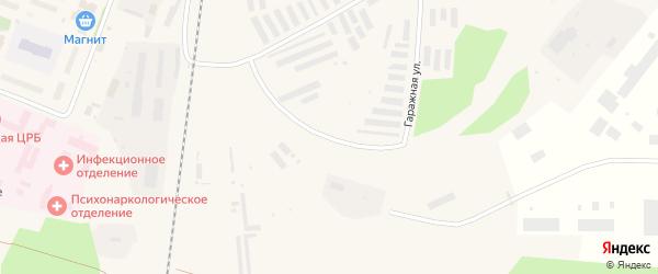 Гаражная улица на карте Няндомы с номерами домов
