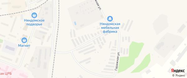 Южная улица на карте Няндомы с номерами домов