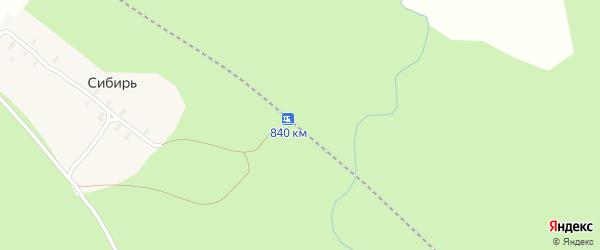 Железнодорожная улица на карте железнодорожного разъезда Междудворья с номерами домов