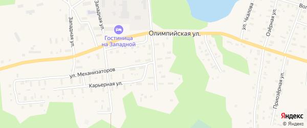 Улица Агрохимиков на карте поселка Коноши с номерами домов