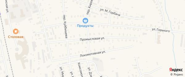 Промысловая улица на карте Няндомы с номерами домов