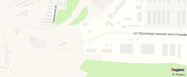 Улица Фадеева на карте Няндомы с номерами домов