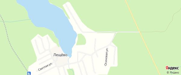 Карта поселка СОТА Дружбы в Архангельской области с улицами и номерами домов
