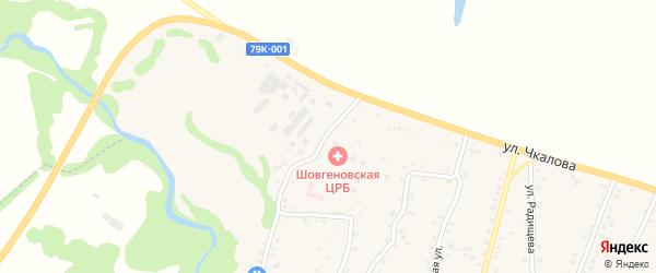 Улица Гагарина на карте аула Хакуринохабля с номерами домов