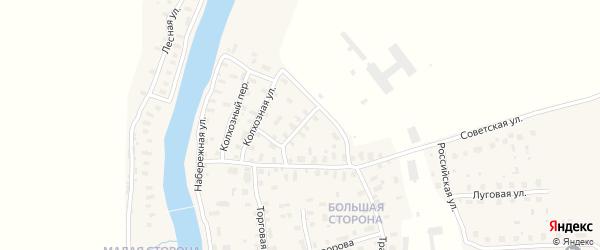 Пионерская улица на карте поселка Шалакуши с номерами домов