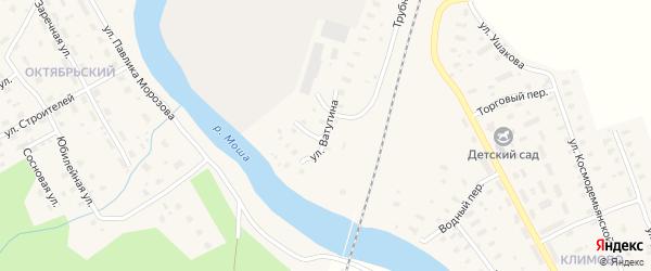 Улица Ватутина на карте поселка Шалакуши с номерами домов
