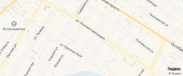 Кубинская улица на карте поселка Коноши с номерами домов