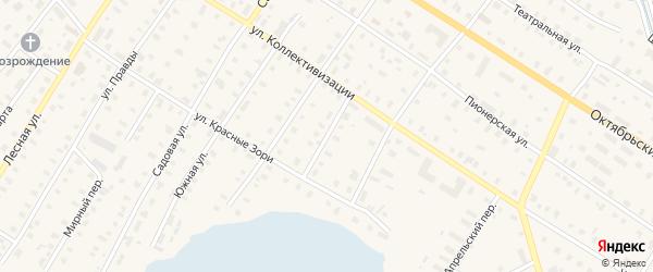 Кремлевская улица на карте поселка Коноши с номерами домов