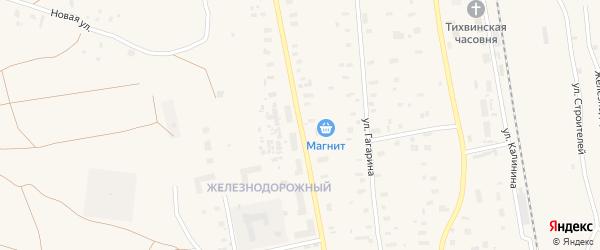 Лесная улица на карте Обозерского поселка с номерами домов