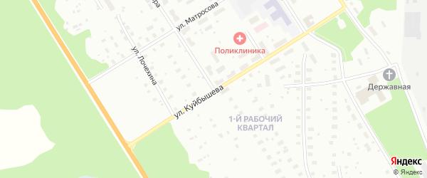 Улица Мира на карте Архангельска с номерами домов