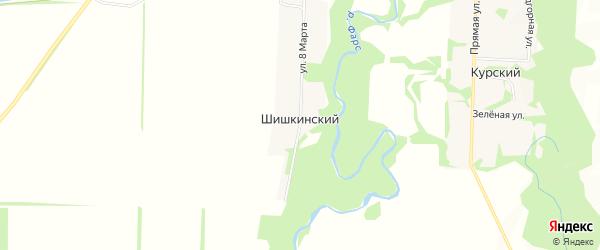 Карта Шишкинского хутора в Адыгее с улицами и номерами домов