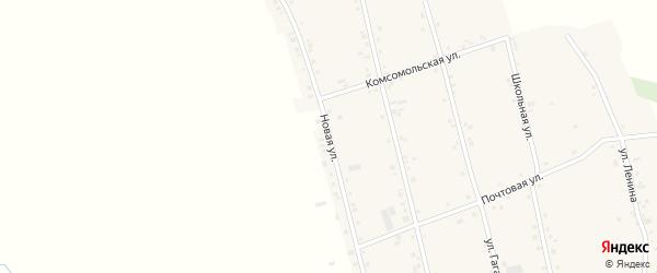 Новая улица на карте аула Егерухай с номерами домов