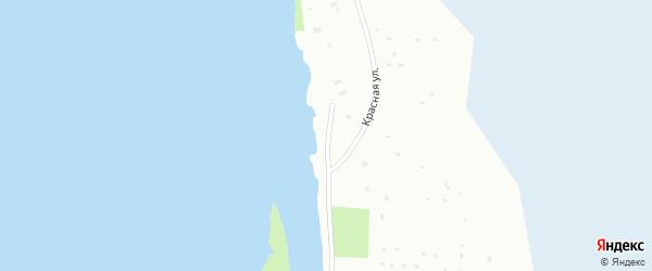 Красная улица на карте Архангельска с номерами домов