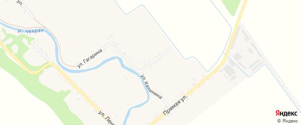 Улица Калинина на карте Игнатьевского хутора с номерами домов