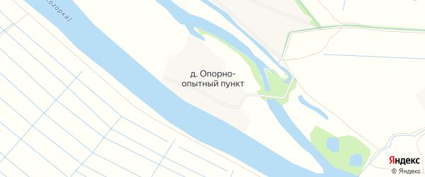 Карта деревни Опорно-опытный пункт в Архангельской области с улицами и номерами домов