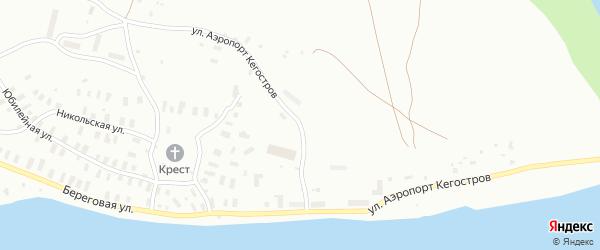 Территория Аэропорт Кегостров на карте Архангельска с номерами домов