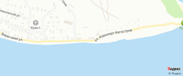 Береговая улица на карте садового некоммерческого товарищества Строителя сада N2 с номерами домов