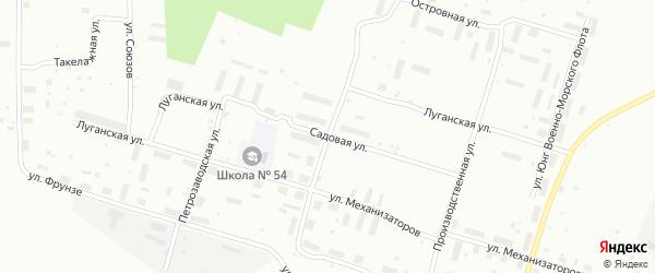 Улица Петра Стрелкова на карте Архангельска с номерами домов