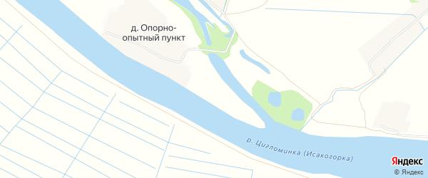 СТ Товарищество Зеленый остров на карте Приморского района с номерами домов