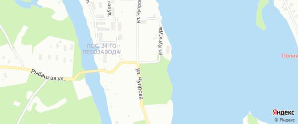Улица Культуры на карте Архангельска с номерами домов