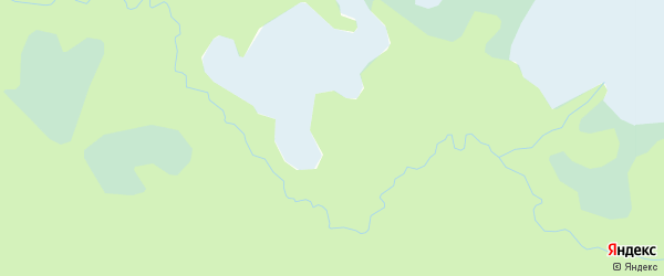 Карта населенного пункта Острова Мудьюг в Архангельской области с улицами и номерами домов