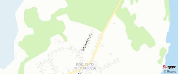 Биржевая улица на карте Архангельска с номерами домов