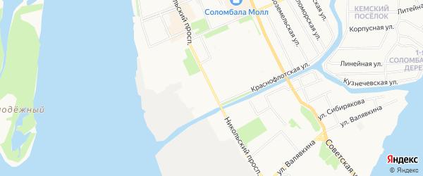 ГСК Седов на карте Никольского проспекта с номерами домов
