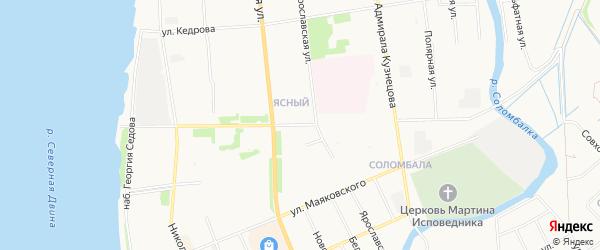 ГСК Электрик на карте улицы Красных партизана с номерами домов