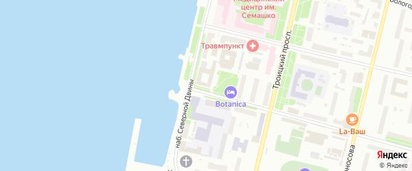 Садовая улица на карте садового некоммерческого товарищества Строителя сада N1 с номерами домов